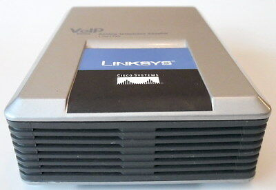 UNLOCKED Linksys SPA1001 FXS VoIP Phone Adapter (No power supply)