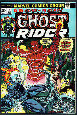 GHOST RIDER  2  VF/NM/9.0  -  1st full Daimon Hellstrom!