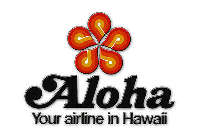 "Aloha Airlines Logo Fridge Magnet 3.25""x2.25"" Collectibles (LM14001)"