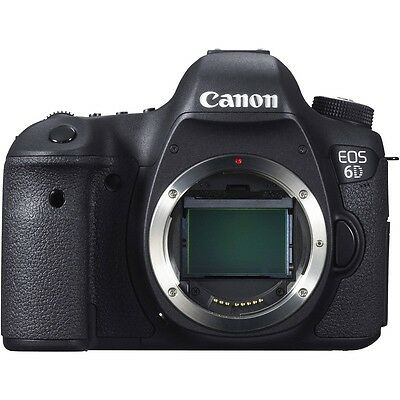 Canon EOS 6D {WG} DSLR Digital Camera Body Only with Built in GPS Wifi * UK SHIP