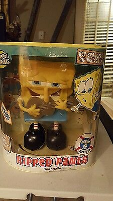 "SpongeBob Squarepants Nickelodeon Animated Toy ""I Ripped My Pants"" 2005"
