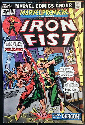 Marvel Premiere #16 - Iron Fist! Second appearance!
