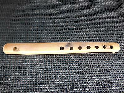Antique Bamboo Reed Wood Snake Charmer FLUTE Musical Instrument Hand-Crafted Old