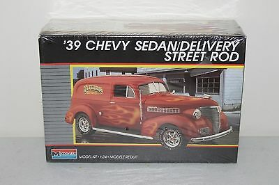 1939 Chevy Sedan Delivery Street Rod Monogram 1/24 Model Kit