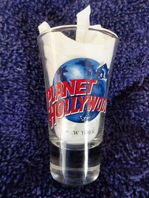 Planet Hollywood Shot Glass From New York