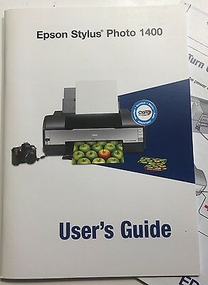 EPSON Stylus Photo 1390 1400 1410 Printer English Service Manual - Hard Cover