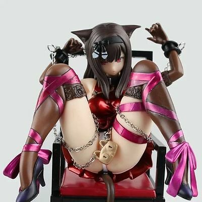 Japan Anime Cat And Chairs Chukana 1/8 Scale Painted PVC Figure Cast Off in Box