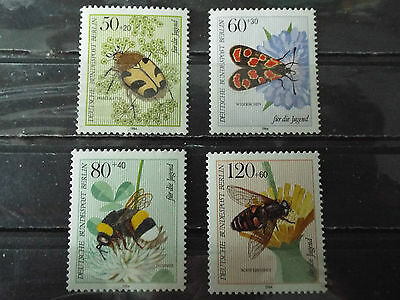 Série 4 timbres neuf All. BERLIN 1984 : Insectes de la pollinisation