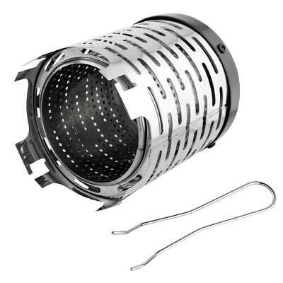 Camping Stainless Steel Portable Heater Cap Gear for Butane Gas Stove Burner