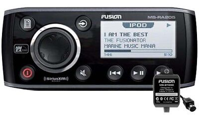 Fusion MS-RA205 Marine Stereo + MS-BT200 Module with GEN FUSION WARR