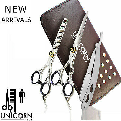Hairdressing Scissors Shears Japan Steel Professional Hair Cutting Thinning Set