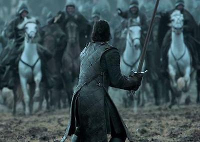GAME OF THRONES POSTER Jon Snow Battle of the Bastards Print Photo Poster A3 A4