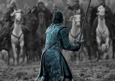 GAME OF THRONES POSTER Jon Snow Battle of the Bastards Photo Print Poster A3 A4