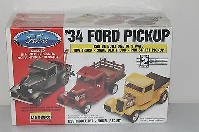 1934 Ford Pickup Build One Of 3 Ways Lindberg 1/25 Model Kit
