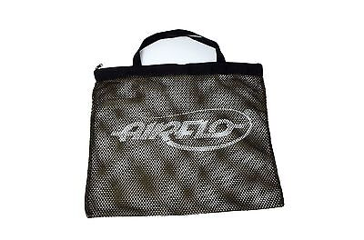 Airflo NEW Extra Strong Zip Top Lightweight Fly Fishing Mesh Bass Bag - Free P+P