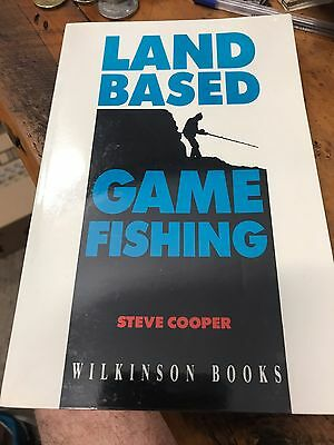 Land Based Game Fishing By Steve Cooper Softcover