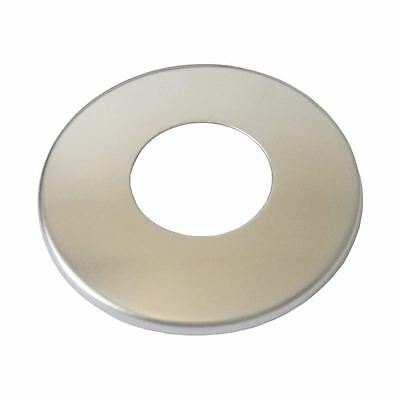 """1/2"""" / 3/4"""" Inch BSP Chrome Plated Stainless Steel Pipe Cover Thin Collar"""