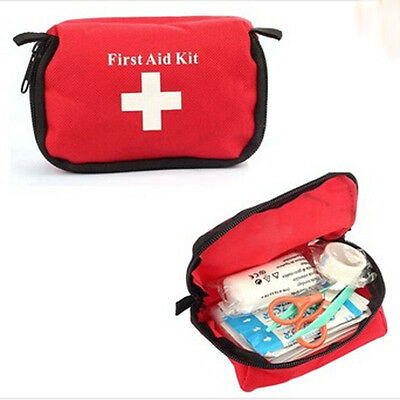Emergency Camping Car Travel Aid Bag Medical KIT For Paramedic Trauma