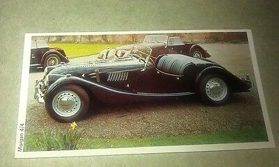 1971 MORGAN 4/4   Daily Express UK Trade Swap Card