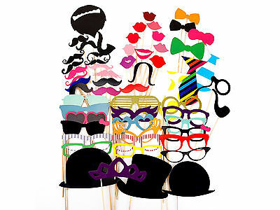 Party Props Funny Photo Booth Photo-shoot Birthday Wedding Home Family Parties