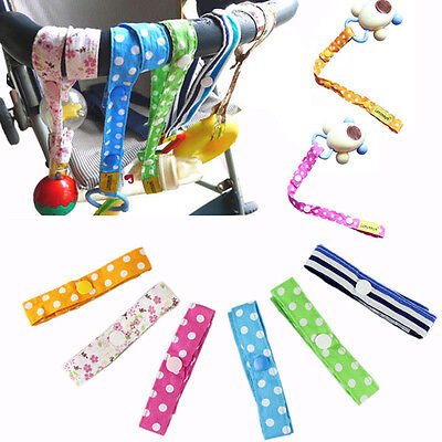 Baby Stroller Pram Hanging Belt Toy Cup Bottle Anti Drop Handrails Strap Hangers