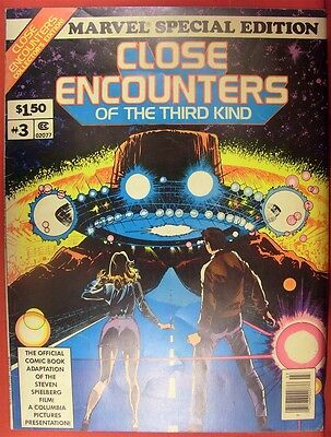 Close Encounters Third Kind 3 Marvel Special Treasury Comic 1St Print 1978 Fn/vf