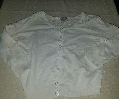 Justice Girls Button Up Sweater size 12