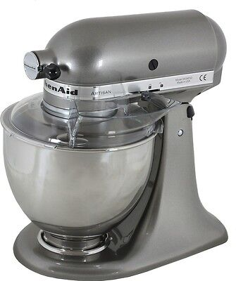 Robot amasador KitchenAid Artisan 5KSM150PSEMS color Plata