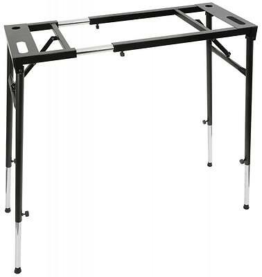 Qtx 180.216 Robust Flexible Versatile and Adjustable Mixer Keyboard Stand - Blk