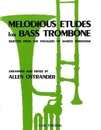 MELODIOUS ETUDES FOR BASS TROMBONE Ostrander