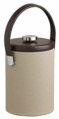 KRAF-51140-2 Qt. Ice Bucket in Latte with Strap Handle