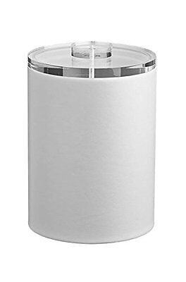 KRAF-51642-Comtempo 2 Qt. Tall Ice Bucket with Thick Lucite Color: White