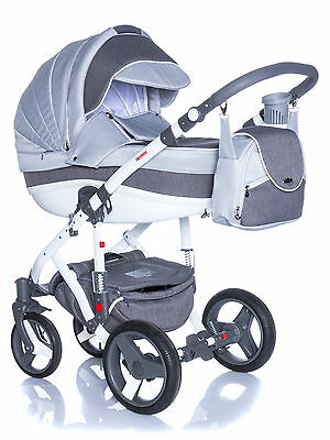 Baby Pram Pushchair Stroller Buggy Travel System 2In1 3In1 Adamex Vicco R10
