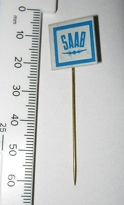 Saab Vintage 60's / 70's Collectable Stick Pin Lapel Badge