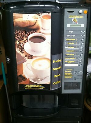 Necta Brio Zanussi 250 Coffee Vending Machine-Fresh Grind Top Quality Machine