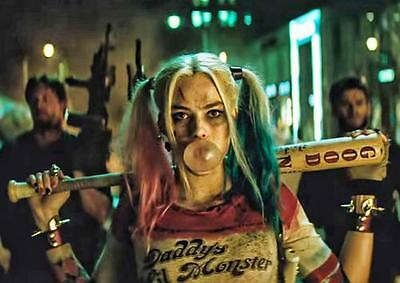 HARLEY QUINN POSTER Suicide Squad DC Batman Joker Wall Art Photo Print A3 A4
