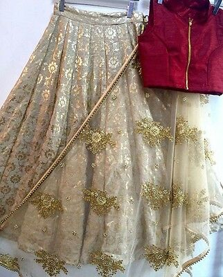 Indian Ethnic Lehenga Designer Party Wear Wedding New Saree Sari