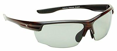 NEW Golf Callaway C80031 Tortoise Plastic Frame Gray Lens Kite Sunglasses
