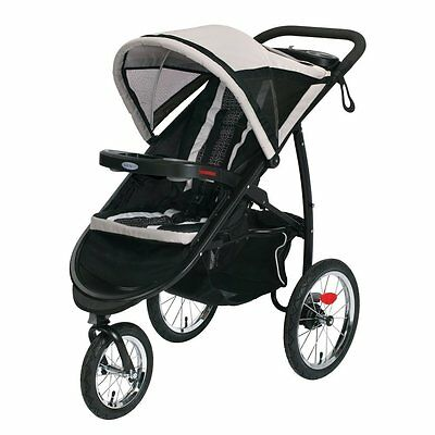 Graco Fastaction Fold Jogger Click Connect Stroller - Pierce - 1934712