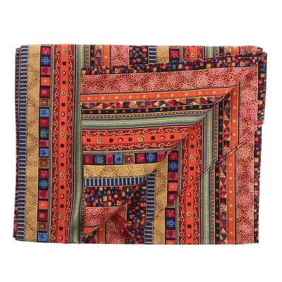 Bohemian Table Runner Tassel Cotton Tablecloth Cover Decor 30x180cm Red
