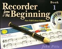 RECORDER FROM THE BEGINNING (Colour) 1 Pupils + CD