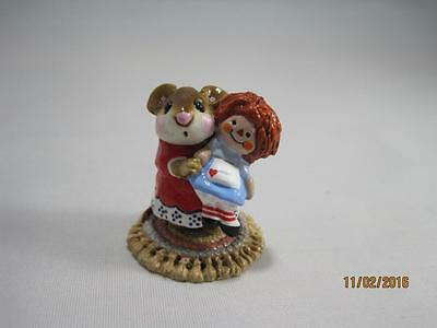 Wee Forest Folk Me & Raggedy Ann - LE Noah's Store Special 1996 - WFF Box
