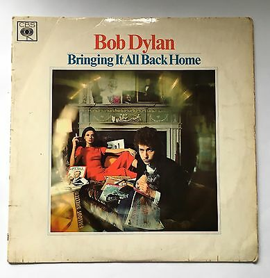 Bob Dylan Bringing It All Back Home Vinyl Lp Cbs 62515 1965 Uk Early Press Vgc