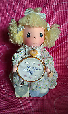 Vtg~Precious Moments~Mother 1986~Tags~Katie~ Original Stand~#5605~Super Cute!!