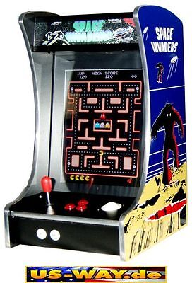 G-288 Space Invaders Classic Arcade TV Video Spielautomat Thekengerät 412Spiele