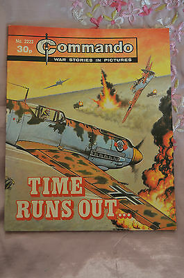 TIME RUNS OUT No 2223 -  COMMANDO COMIC WAR STORIES IN PICTURES