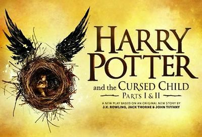 7/15 2017 - 4 Harry Potter and the Cursed Child Tickets (Parts 1 and 2), London
