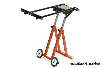 Portable Foldable Panel Carrier Table Saw Feed Stand Standing Adjustable Plywood