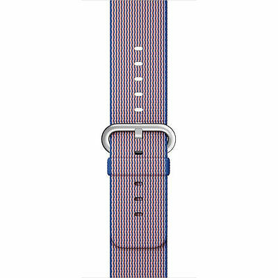Genuine Apple Watch Woven Nylon Band (38mm, Royal Blue) MM9N2AM/A - VG