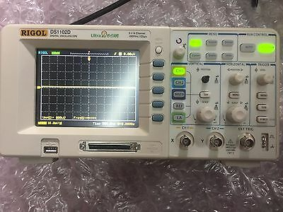 Rigol DS1102D 2+16 Channel 100MHz Digital Oscilloscope with Logic Analyzer LOT#1